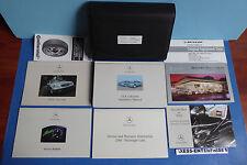 2001 Mercedes A208 CLK CLK320 CLK430 Convertible Owner Manuals Pouch Set 011117J
