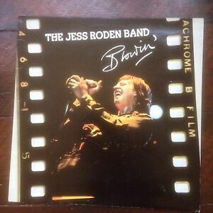 The Jess Boden Band Blowin Island ILPS 9496 Ex Condition