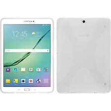 Silikon Hülle für Samsung Galaxy Tab S3 9.7 clear X-Style + 2 Schutzfolien
