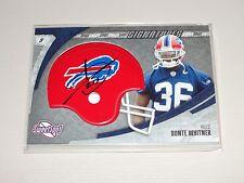 2006 Sweet Spot DONTE WHITNER Helmet Auto RC REDSKINS Bills OHIO STATE Buckeyes