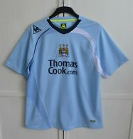 MANCHESTER CITY 2008/2009 HOME FOOTBALL SHIRT JERSEY KIT LE COQ SPORTIF SIZE L