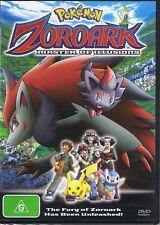 POKEMON DVD - Zoroark: Master Of Illusions - NEW & SEALED