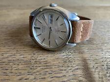 SEIKO King Seiko 5625-7080 Date Vintage Silver Dial Automatic Men's Watch