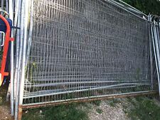 Used Hera Steel Wire Site & Farm Fencing Building Gardening chickens horse