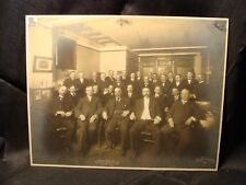 New York Central Lines 1906 Committee on Accounting Employee Photograph Photo