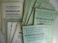 Boletín Trimestral Société Forestal Lorraine Las Amis Las Árboles 1925-1935