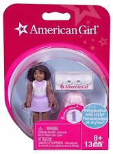 American Girl MEGABLOK PURPLE PASSION Lego Mini Figure Doll 2.5 Inches Tall NEW
