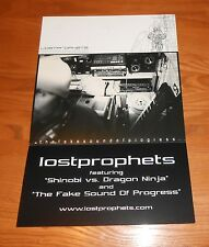 Lost Prophets Poster 2-Sided Flat Square 2001 Promo 12x18
