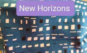 NEW HORIZONS - Hand Made Reusable Cotton Face Mask/Face Covering