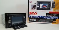"""Boss Audio BV9150 Car 2-Din DVD/MP3/CD/USB/FM Receiver with 4.5"""" Touchscreen NOS"""