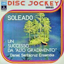 """7"""" Daniel Sentacruz Ensemble soleado/per Elisa Odeon disc-jockey-Series i 1974"""