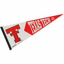 Texas Tech University Vault, Retro and Vintage Logo Pennant