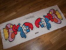 1982  Smurf Fabric Pillow Pattern Peyo # 215 - NEW- Cut Sew & Stuff