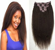 Afro Adult Straight Hair Extensions