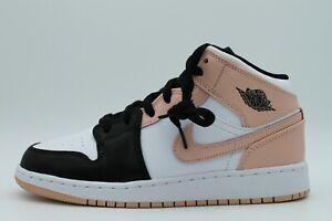 Nike Air Jordan 1 Mid GS Crimson Tint Pink Sneaker Woman EU 36,5 - 38,5 Neu&Ovp