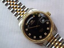 Model Men'S Automatic Watch Japan Sapphire Crystal Orient Diamond Dial Oyster
