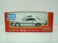 TOMICA DANDY - NISSAN SKYLINE 2000 RS TURBO - N° 018 - 1/43 - BOITE - ANCIEN -