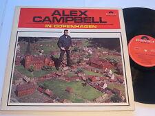 Alex Campbell in Copenhagen German POLYDOR ORIGINALE 1965 VINILE/COVER: excellent