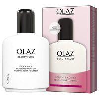 Olaz Beauty Fluid Feuchtigkeitspflege ohne zu fetten weiche Haut 200ml