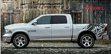 Ram  Wave-Bed Graphics-Vinyl Decal Ford, Chevy, Ram Trucks, Custom Graphics