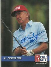 "Al Geiberger"" Mr 59 ""    PGA Golfer Personally Autographed Card"