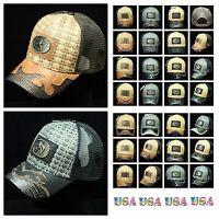 Western Cowboy Style Baseball Cap Classic Hat Mesh Trucker Snapback  Rooster Hat