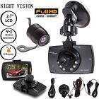 1080P HD Dual Lens Car Camera Vehicle DVR Dash Cam Video Recorder Night Vision