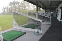 Golf Driving Range Netted Bay Dividers - 2 METERS LONG