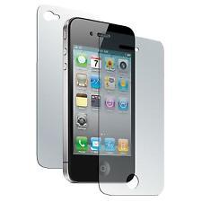 4 x Apple iPhone 4S Película protectora mate Fullbody