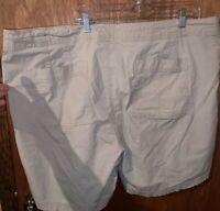 Lane Bryant Khaki Shorts Plus Size 28