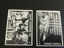 New listing 1966 Topps Lost In Space Card Lot X 2 No. 14,34