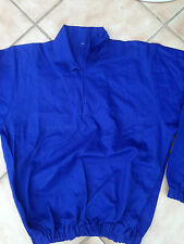 "Drill Top for Training rugby / football -   royal blue -  small 36"" chest"