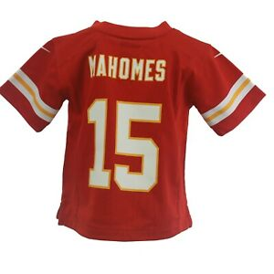 Kansas City Chiefs Patrick Mahomes NFL Nike Baby Infant Toddler Size Jersey New
