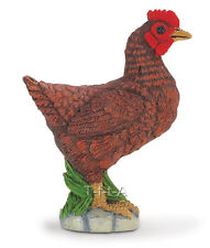 FREE SHIPPING | Safari Ltd. 233129  Bantam Hen Toy Barn Chicken- New in Package