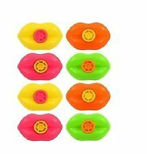 12xWhistle Lips-Siren Noise Makers Boys/Girls Party Loot Bag Fillers ToysT080037