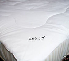 Jasmine Silk 100% Mulberry Silk Filled Mattress Topper Super King