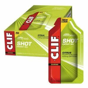CLIF Bar SHOT Energy Gel - Citrus - (24x34g) - RRP$79.90