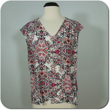 b0bf3c6dac43d1 New ListingPLEIONE Woman s Floral Sheer Blouse