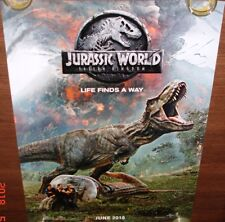 JURASSIC WORLD: FALLEN KINGDOM (2018) ORIGINAL DS POSTER DOUBLE SIDED