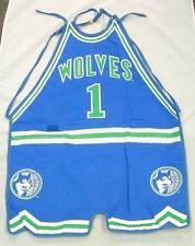 Minnesota Timberwolves NBA Vintage Logo Official Licensed #1 Apron NEW