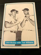 Mickey Mantle and Ted Williams - 1956 - The Mantle Story - MINT