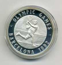 Medalla Olympic Games Barcelona 1992 tenis plata m_883