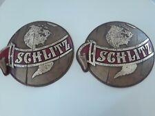 Vintage Schlitz World Beer Sign 1970's