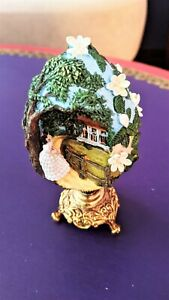 GONE WITH THE WIND SCARLETT OF TARA COLLECTIBLE EGG-1989