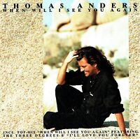 (CD) Thomas Anders - When Will I See You Again -  Original Album (1993)