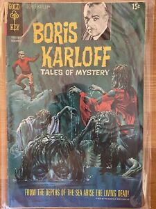Boris Karloff: Tales of Mystery #32 (Nov 1970, Gold Key) Grade 7 FN/VF Bronze Ag