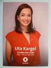 Uta Kargel - Das Erste Sturm der Liebe Karte (2018)