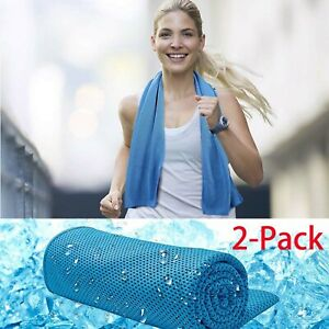 Gym Sports Quick Dry Bathroom 2-Piece Swimming Sport Running FAST DRY Towel ICE