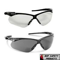 INNER BIFOCAL SAFETY READING SUNGLASSES GLASSES SUN READER ANSI Z87.1+ (1 PAIR)
