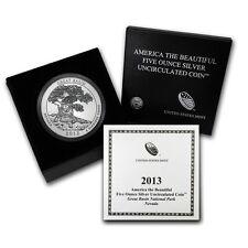 2013-P 5 oz Silver ATB Great Basin w/Box & COA